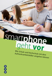smartphone geht vor Cover