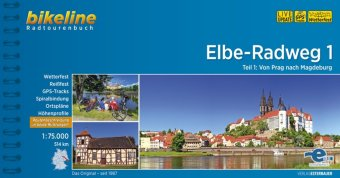 Bikeline Radtourenbuch Elbe-Radweg