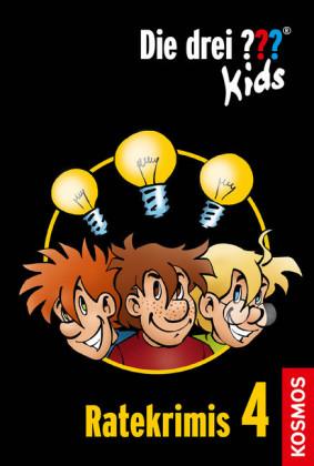 Die drei ??? Kids, Ratekrimis 4 (drei Fragezeichen Kids)