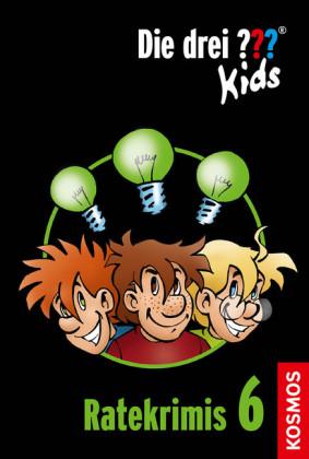 Die drei ??? Kids, Ratekrimis 6 (drei Fragezeichen Kids)
