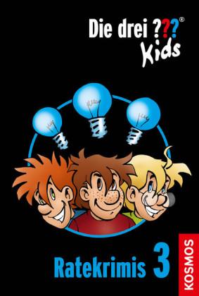 Die drei ??? Kids, Ratekrimis 3 (drei Fragezeichen Kids)