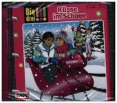 Die drei !!! - Küsse im Schnee, Audio-CD