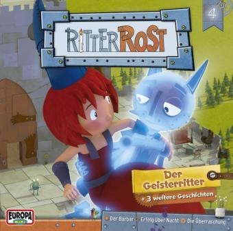 Ritter Rost - Der Geisterritter, Audio-CD