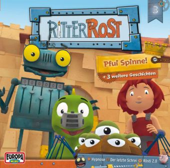 Ritter Rost - Pfui Spinne!, Audio-CD
