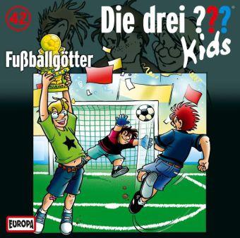 Die drei ???-Kids - Fußballgötter, Audio-CD