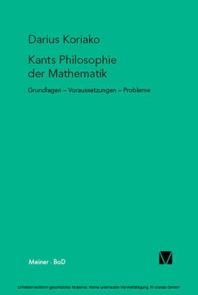 Kants Philosophie der Mathematik