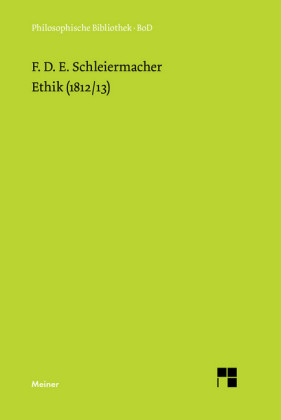 Ethik (1812/13)