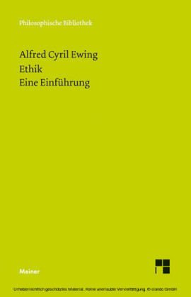 Ethik. Eine Einführung
