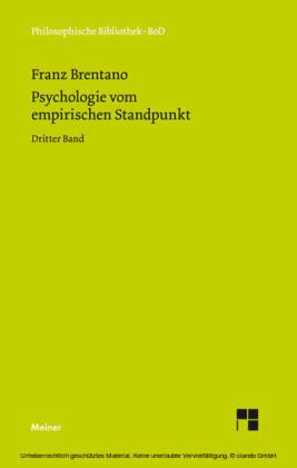 Psychologie vom empirischen Standpunkt