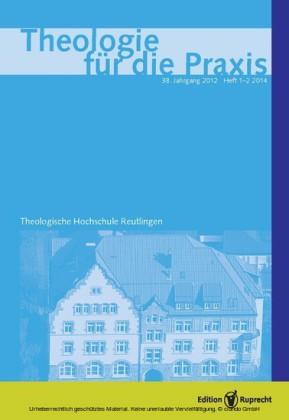 Theologie für die Praxis 1/2/2012 - Einzelkapitel