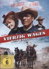 Vierzig Wagen Westwärts, 1 DVD Cover