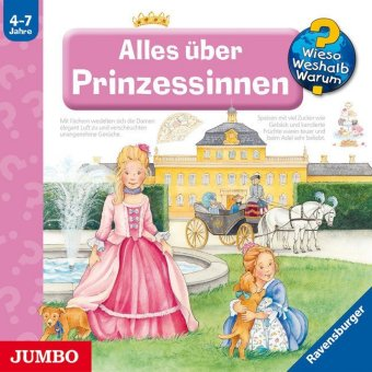 Alles über Prinzessinnen, 1 Audio-CD