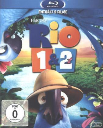 Rio 1 & 2, 2 Blu-rays