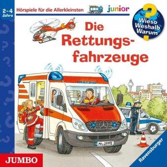 Die Rettungsfahrzeuge, 1 Audio-CD