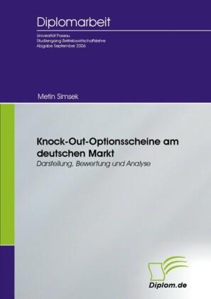 Knock-Out-Optionsscheine am deutschen Markt
