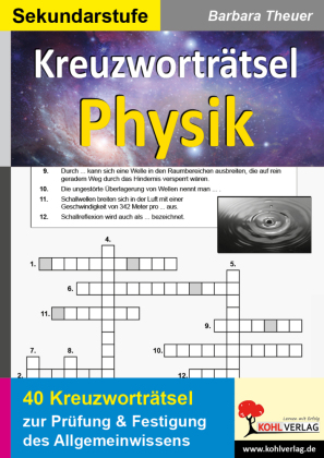 Kreuzworträtsel Physik