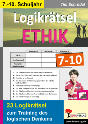 Logikrätsel Ethik 7-10