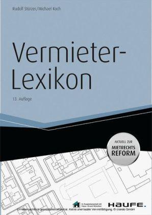 Vermieter-Lexikon -mit Arbeitshilfen online