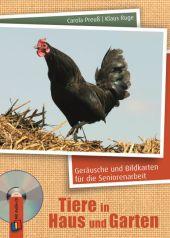 Tiere in Haus und Garten, Audio-CD Cover