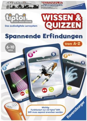 Wissen & Quizzen, Spannende Erfindungen (Spiel-Zubehör)