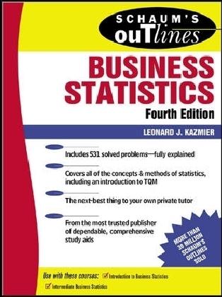 Schaum's Outline of Business Statistics