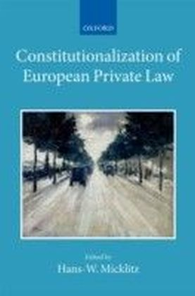 Constitutionalization of European Private Law: XXII/2