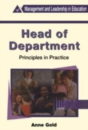 Head of Department