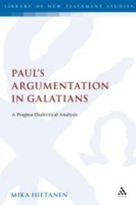 Paul's Argumentation in Galatians