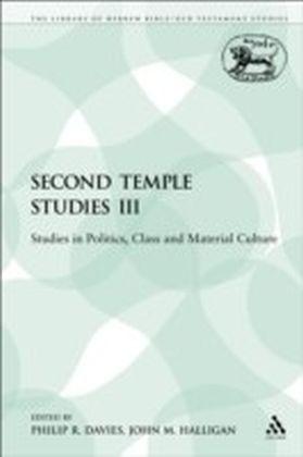 Second Temple Studies III