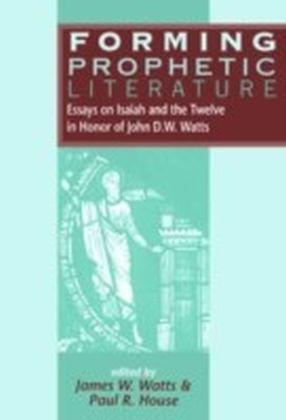 Forming Prophetic Literature