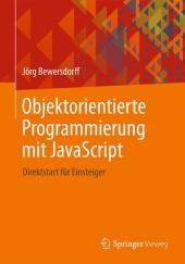Objektorientierte Programmierung mit JavaScript Cover