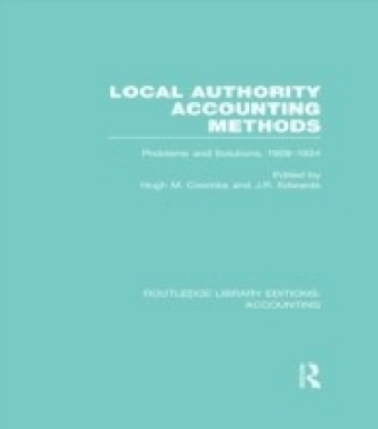 Local Authority Accounting Methods Volume 2 (RLE Accounting)