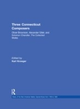Three Connecticut Composers