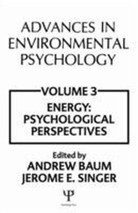 Advances in Environmental Psychology