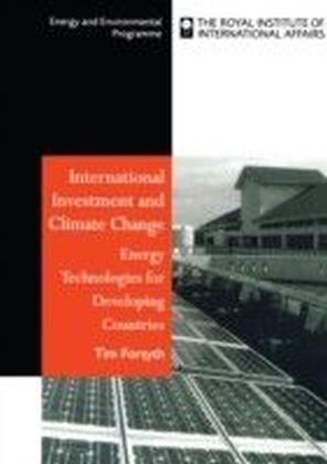 International Investment and Climate Change