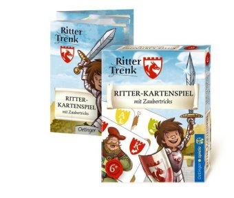 Der kleine Ritter Trenk (Spielkarten), Ritter-Kartenspiel mit Zaubertricks