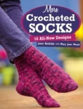 More Crocheted Socks