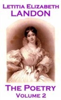 Poetry Of Letitia Elizabeth Landon