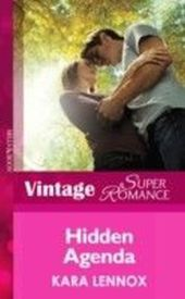 Hidden Agenda (Mills & Boon Vintage Superromance) (Project Justice - Book 6)