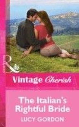 Italian's Rightful Bride (Mills & Boon Cherish)