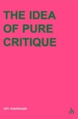 Idea of Pure Critique