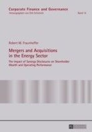 Mergers and Acquisitions in the Energy Sector