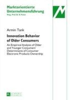 Innovation Behavior of Older Consumers