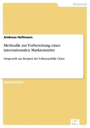 Methodik zur Vorbereitung eines internationalen Markteintritts
