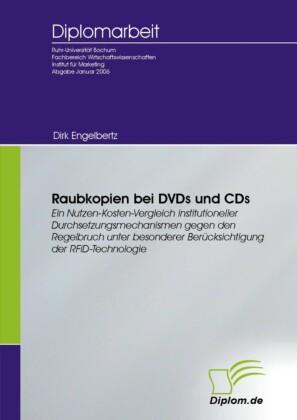 Raubkopien bei DVDs und CDs