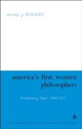 America's First Women Philosophers