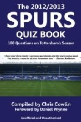 2012/2013 Spurs Quiz Book