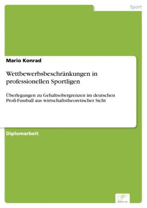 Wettbewerbsbeschränkungen in professionellen Sportligen