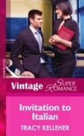 Invitation to Italian (Mills & Boon Vintage Superromance) (Make Me a Match - Book 3)