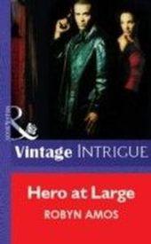 Hero at Large (Mills & Boon Vintage Intrigue)
